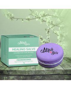 Frankincense, Tamanu - Organic Anti - Blemish Salve (Balm) - Acne, Scars & Infections