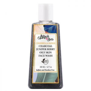 Activated Charcoal Oily Skin Face Wash - Paraben Free