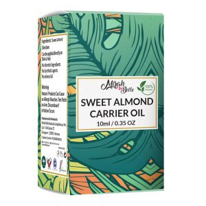 Sweet Almond Oil - Organic, Virgin & Cold Pressed