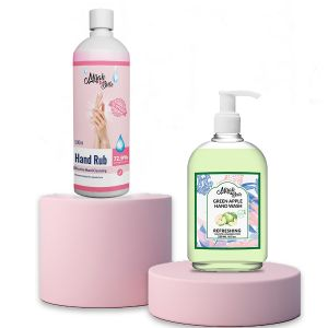 Green Apple Hand Cleanser & Hand Sanitizer (combo-pack)