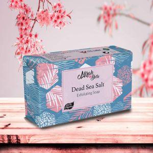 Dead Sea Salt - Organic Handmade Soap - Dead Skin Removal - Face & Body