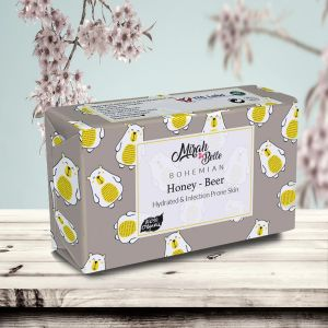 Honey, Beer Skin Softening Soap Bar - Organic & Handmade