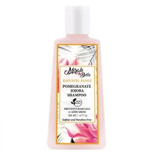 Pomegranate, Jojoba - Natural Anti-Hair Fall Shampoo