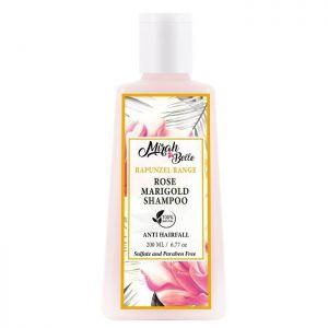 Rose, Marigold - Natural Anti-Hair Fall Shampoo - Sulfate Free