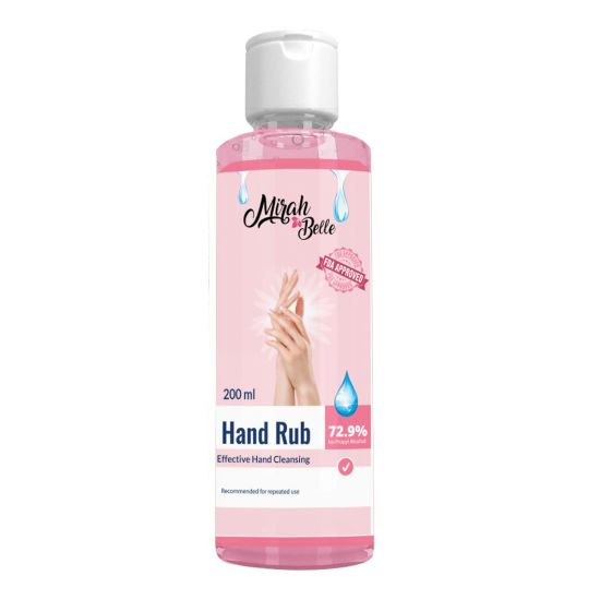 Silver Scent Hand Sanitizer Gel (200ml)