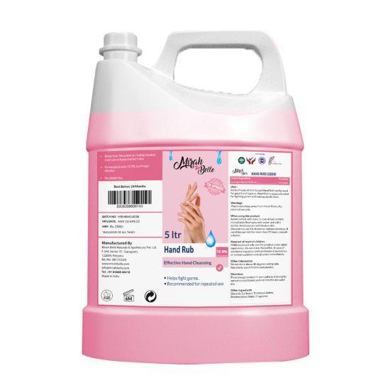 Silver Scent Hand Sanitizer Liquid - 5 Ltrs