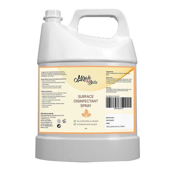 Disinfectant Spray (5 Ltrs) - Kills 99.9% Germs, Viruses