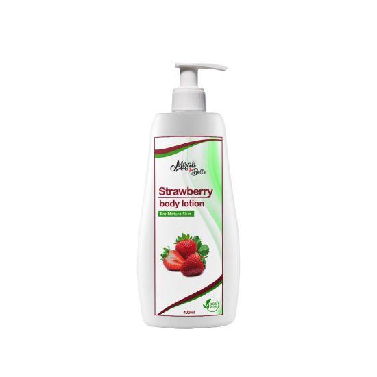 Strawberry - Natural - Body Lotion - Heals Dry Skin - Vegan & Paraben Free