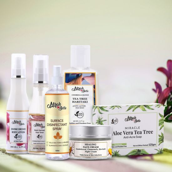 anti acne gift hamper for her