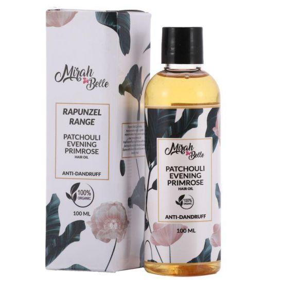 Patchouli, Cedarwood, Evening Primrose - Anti Dandruff Hair Oil