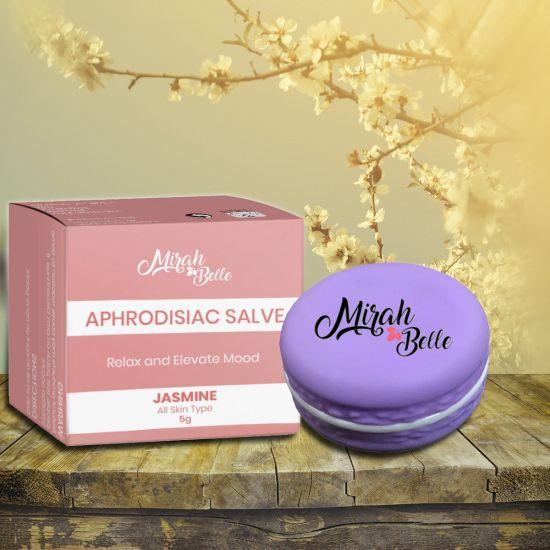 Jasmine, Neroli - Organic Aphrodisiac Salve (Balm) - Invigorates & Stimulates Senses