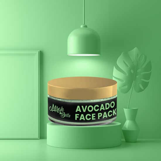 Avocado Face Pack - Organic, Vegan & Cruelty Free