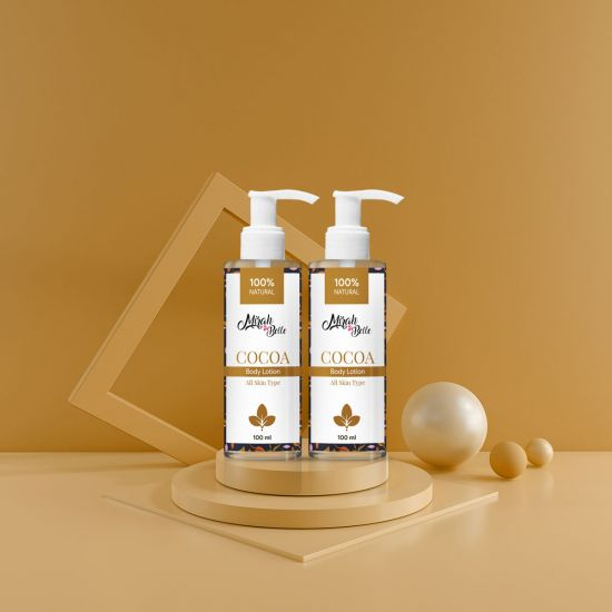 Cocoa Butter Body Lotion 100ml Each (Pack of 2)