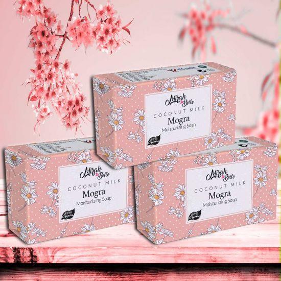 Mirah Belle Coconut Milk Mogra Handmade Moisturizing Soap