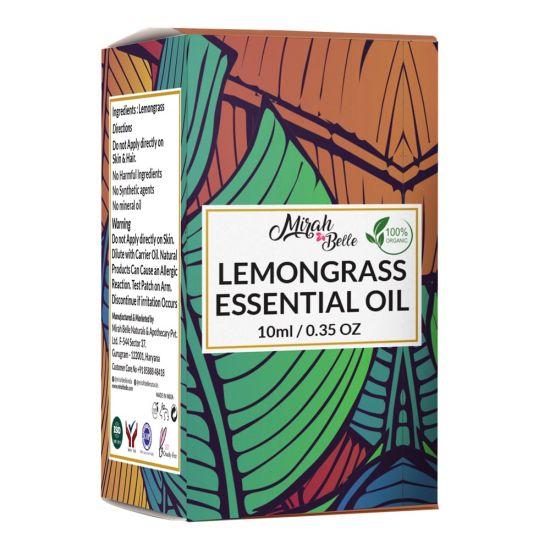 Lemongrass Essential Oil - Pure & Organic