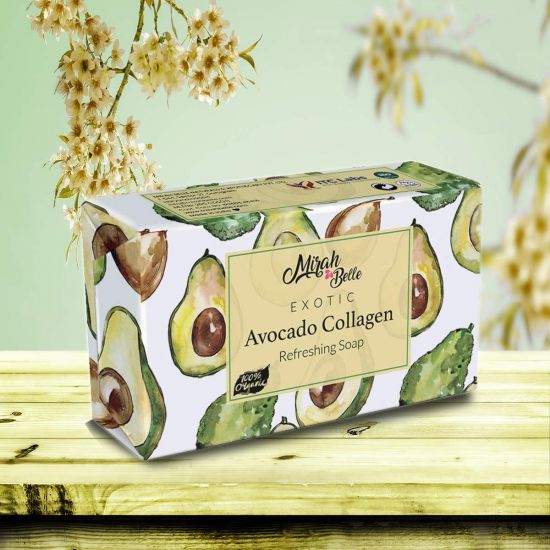 Avocado Collagen Anti Aging Soap Bar - Organic, Handmade