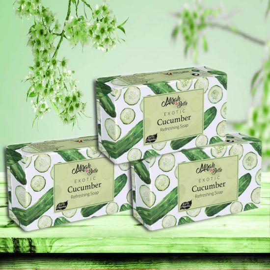 Mirah Belle Cucumber Handmade Soap