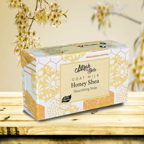 Goat Milk - Honey, Shea Butter - Dry Skin Unscented Soap Bar