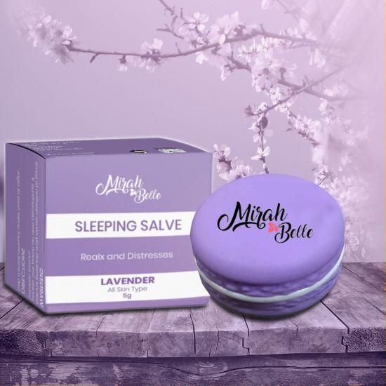 Lavender, Bergamot - Organic Sleeping Salve (Balm) - Mind Relaxation & Restful Sleep