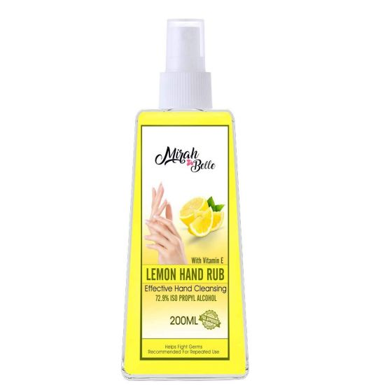 Lemon Hand Rub Sanitizer Spray - 200ml