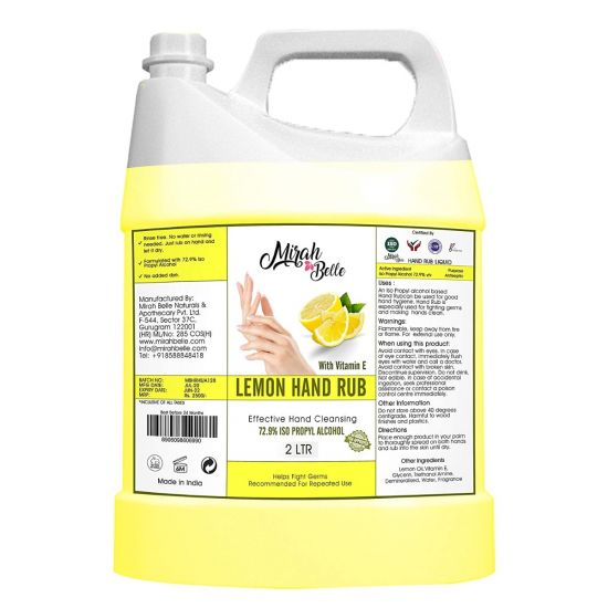 mirah belle lemon hand wash