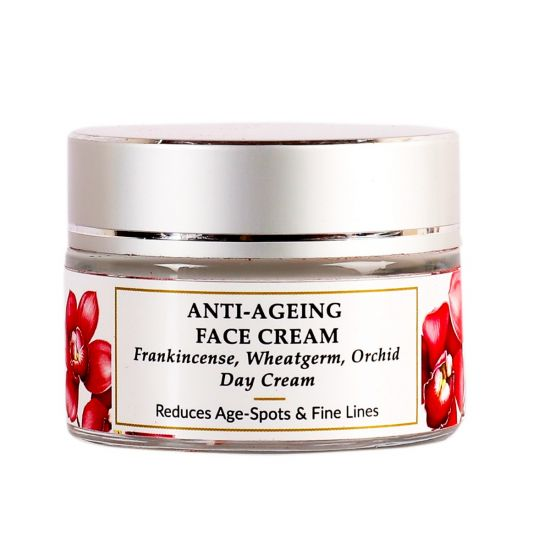 Frankincense, Orchid - Natural Anti-aging Face Cream