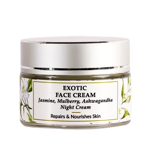 Jasmine, Mulberry, Wheatgerm - Exotic Night Face Cream