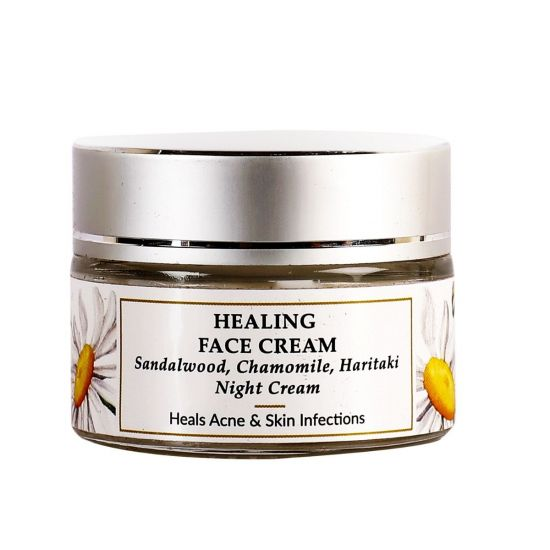 Sandalwood, Haritaki - Natural Healing Face Cream