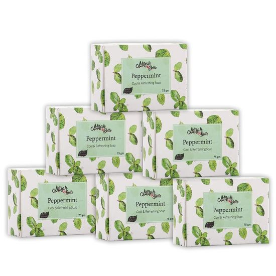 Mirah belle peppermint cool & refreshing soap