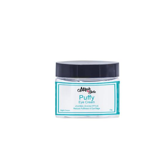 Jojoba, Wheatgerm, Vitamen E - Puffy Eyes & Bags - Organic Eye Cream