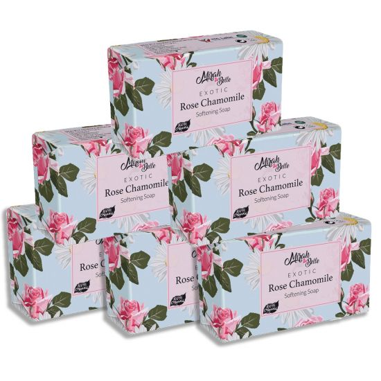 Mirah belle exotic rose chamomile soap
