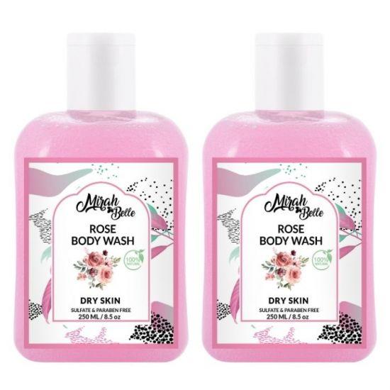 Mirah Belle Rose Body Wash for Fry Skin