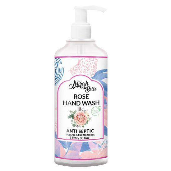 Rose - Dry Skin Natural Hand Wash - 1 Liter-Pack