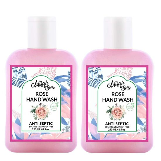Mirah Belle Rose Dry Skin Hand Wash