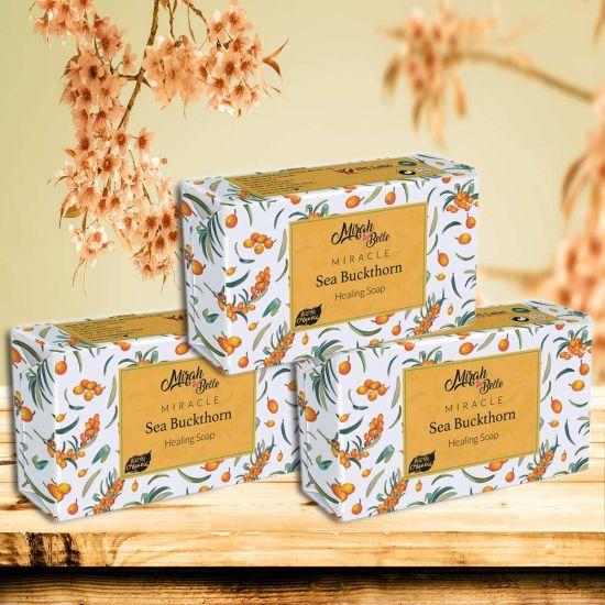 Mirah Belle Sea Buckthorn Healing Handmade Soaps
