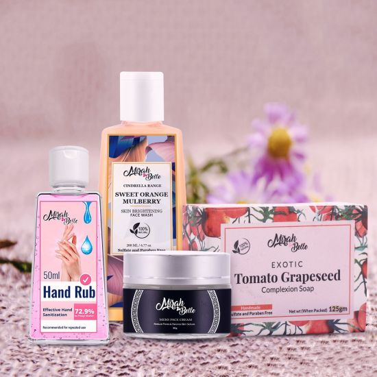 Skin Brightening Kit - Gift Hamper for Men (Pack of 4)