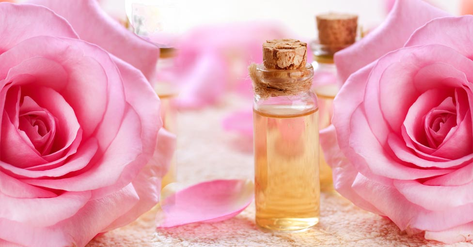 rose essential oil for skin