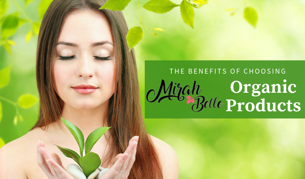 At Mirah Belle - Natural products which makes the most of organic ingredients and doesn't put your beauty and health in risk. Take a look at the reasons why you should trust only the organic skin care products.